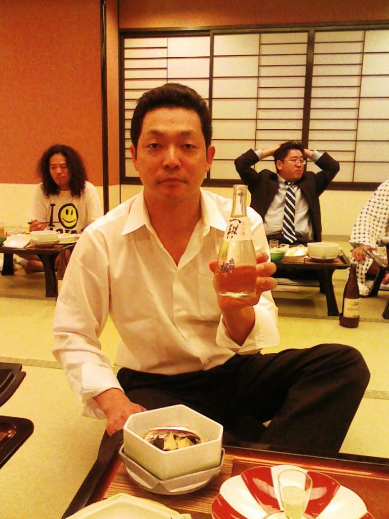 """五十嵐さんお薦めの日本酒""""一耕"""""""