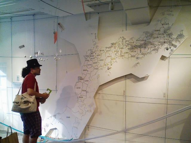こんな不思議な日本地図、初めて観た!