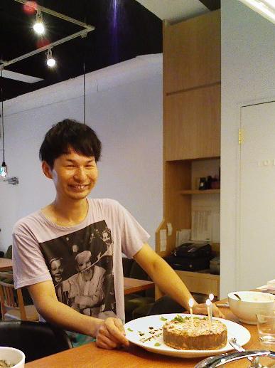 スイッチこと佐藤くん、満面の笑みですね。