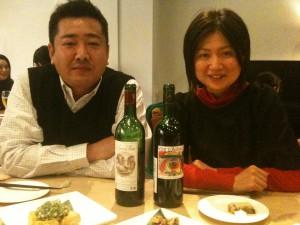 左:散髪したての阿部さん、右:Mavieの大和田さん